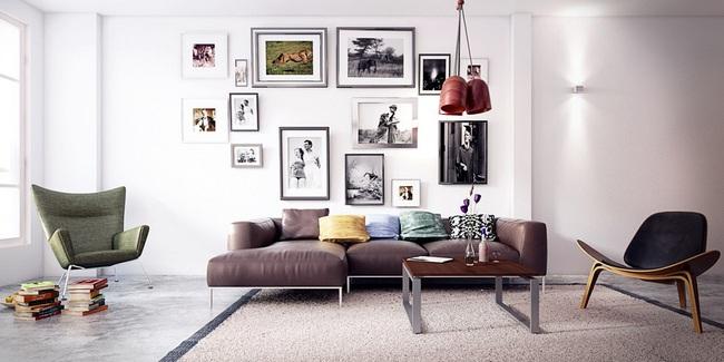 Nếu đang ở chung cư thì đây chính là mẫu phòng khách dành cho nhà bạn đấy - Ảnh 6.