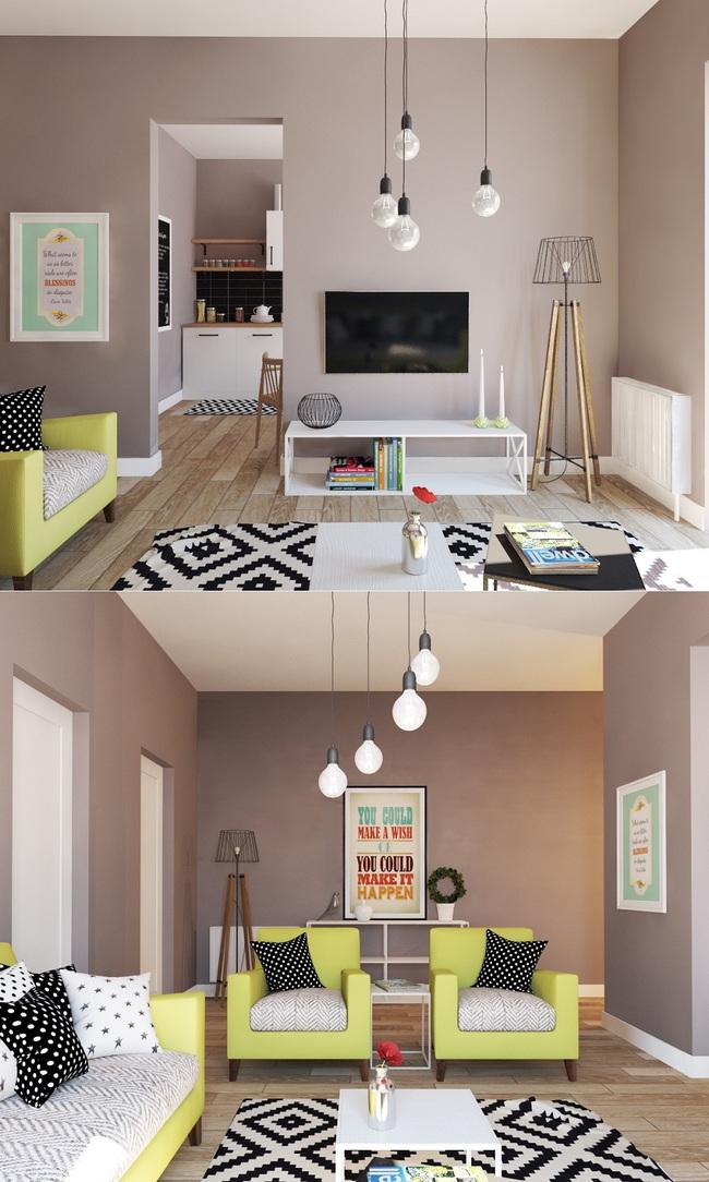 Nếu đang ở chung cư thì đây chính là mẫu phòng khách dành cho nhà bạn đấy - Ảnh 15.
