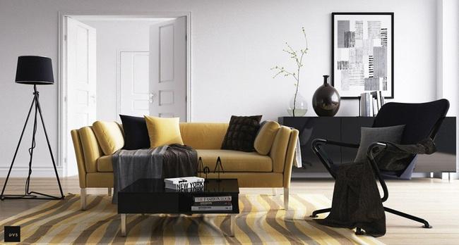 Nếu đang ở chung cư thì đây chính là mẫu phòng khách dành cho nhà bạn đấy - Ảnh 16.