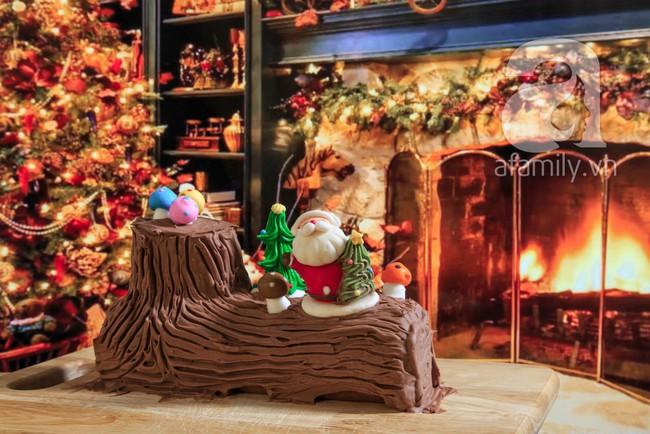 Học ngay cách làm bánh khúc cây ngon đẹp chuẩn bị đón Noel - Ảnh 13.