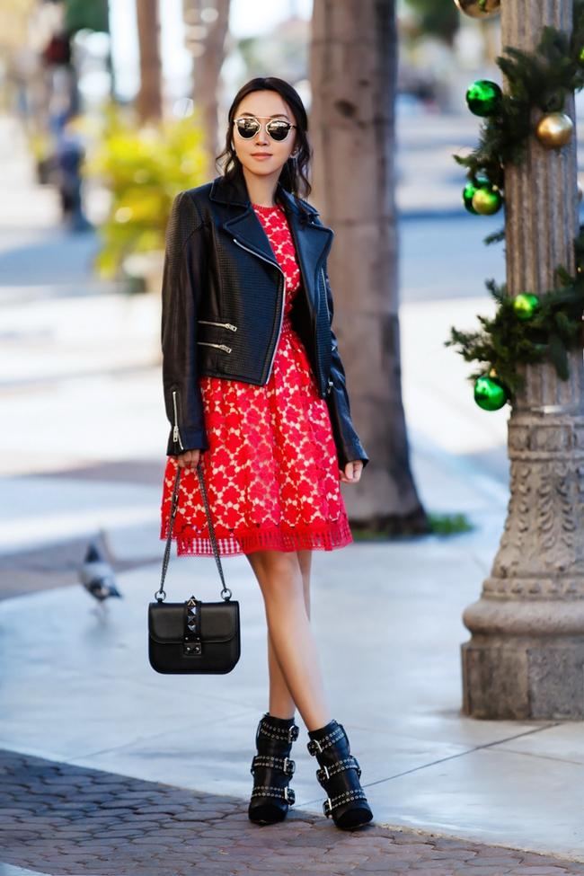 Street style ấm - đẹp - chất của các quý cô Châu Á  - Ảnh 15.