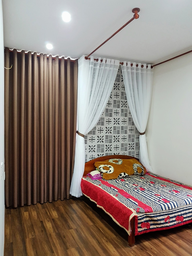 Ngôi nhà 110m² vạn người mê do chủ nhà tự thiết kế có giá 800 triệu ở Quảng Bình - Ảnh 9.