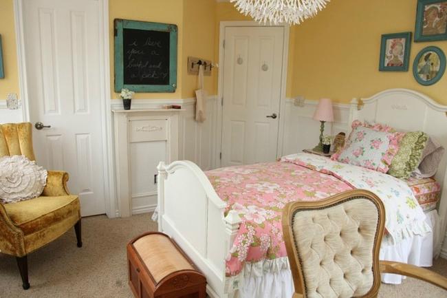 Cô bé tuổi teen tự tay thiết kế lại phòng ngủ và kết quả khiến bố mẹ bất ngờ  - Ảnh 1.