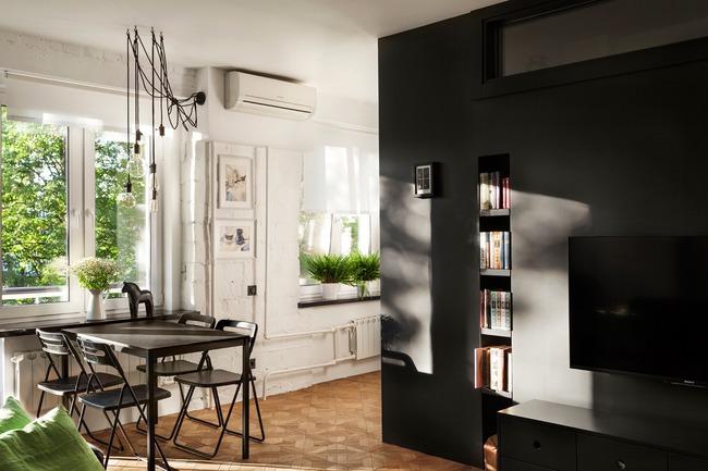 Hai căn hộ với diện tích chưa đến 40m² có thiết kế đẹp hút hồn - Ảnh 2.
