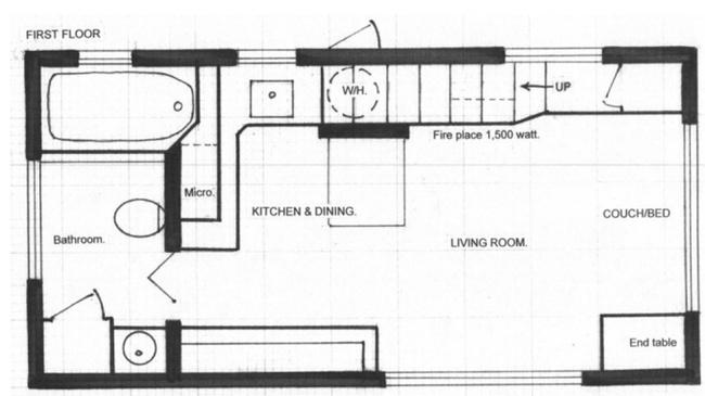 Ngôi nhà chỉ vỏn vẹn có 18m² nhưng không thiếu thứ gì - Ảnh 11.