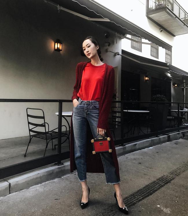 Street style ấm - đẹp - chất của các quý cô Châu Á  - Ảnh 1.