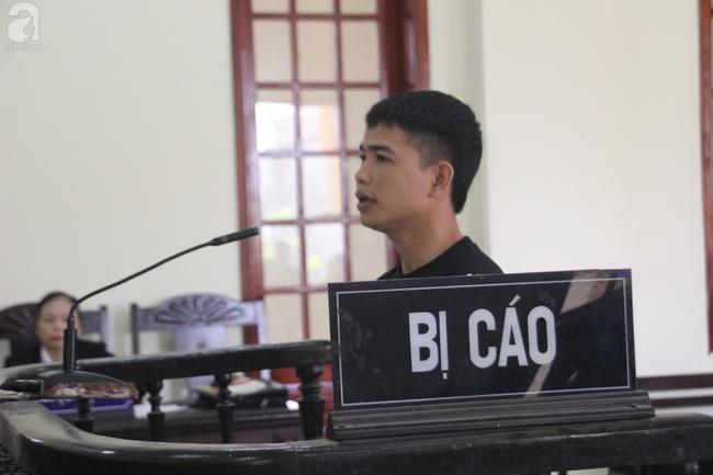 Trần Văn Cường (chồng chị Hòa) trong ngày đền tội.