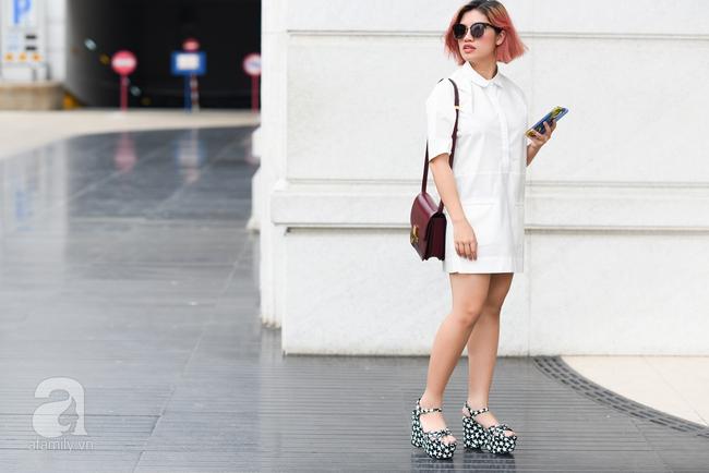 Street style pha trộn khéo léo chất hiện đại và cổ điển của quý cô hai miền - Ảnh 11.