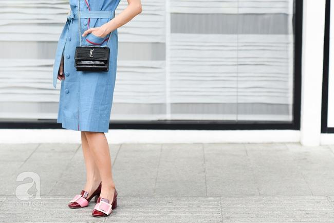 Street style pha trộn khéo léo chất hiện đại và cổ điển của quý cô hai miền - Ảnh 14.