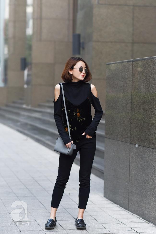 Street style pha trộn khéo léo chất hiện đại và cổ điển của quý cô hai miền - Ảnh 15.