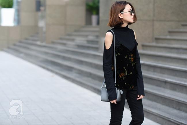 Street style pha trộn khéo léo chất hiện đại và cổ điển của quý cô hai miền - Ảnh 16.