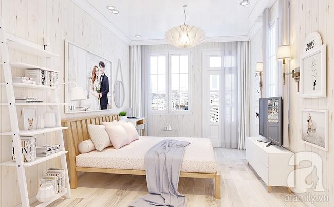 Phòng ngủ 15m² của vợ chồng trẻ đẹp hoàn hảo chỉ với 20 triệu - Ảnh 2.