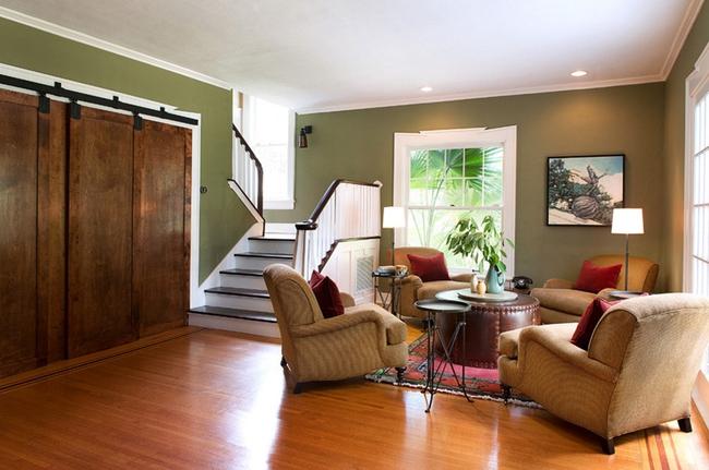 Cửa gỗ cánh trượt - giải pháp vàng để tiết kiệm diện tích và giúp không gian sống đẹp hơn - Ảnh 1.