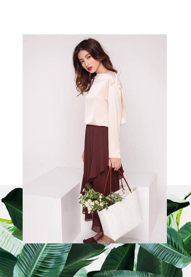 Loạt mẫu áo sơmi/blouse trơn màu giá chưa đến 500 ngàn từ thương hiệu Việt để các nàng chọn mua cho hè - Ảnh 5.