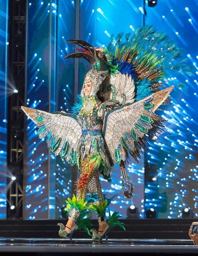 Ngắm nhìn những bộ trang phục truyền thống lộng lẫy, cầu kỳ nhất đêm Chung kết Hoa hậu Hoàn Vũ 2017 - Ảnh 11.