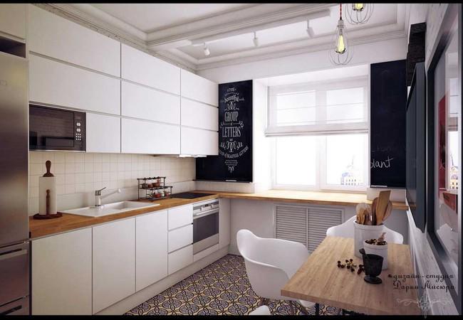 8 căn bếp đẹp xuất sắc dù chỉ vỏn vẻn 8m² - Ảnh 13.