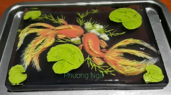 Chiêm ngưỡng tuyệt tác thạch rau câu từ master thạch 3D Việt Nam - Ảnh 12.
