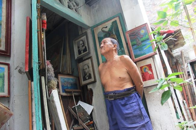 Cảnh đời nghèo mà vui của gia đình chồng vẽ tranh, vợ bán ve chai: Cứ vô tư mà sống, khổ cũng không buồn! - Ảnh 19.
