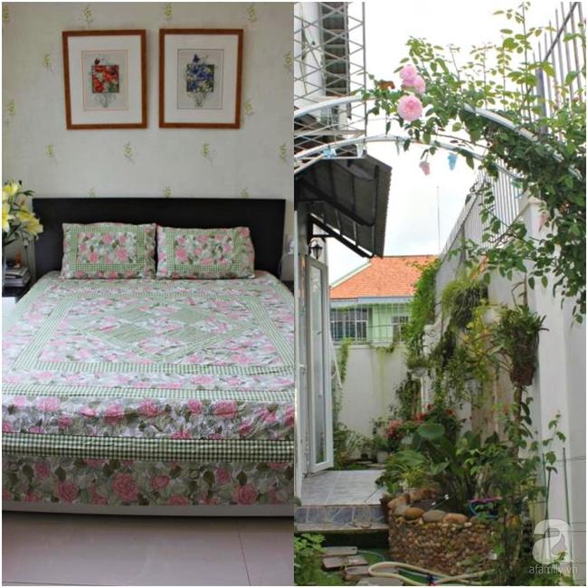 Ngôi nhà vườn rộng 200m² nhìn đâu cũng thấy cây và hoa rực rỡ ở TP HCM - Ảnh 17.