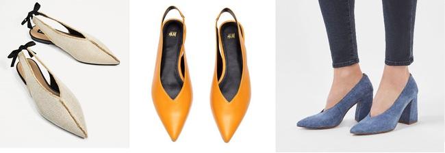Đâu cần phải quá cầu kỳ hay sang chảnh, giày V-line đơn giản lại là thiết kế khiến nàng công sở không thể làm ngơ - Ảnh 7.