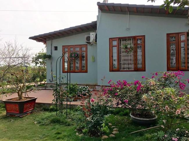 Ngôi nhà bé xinh, bình yên bên vườn hồng rực rỡ cách Hà Nội hơn 1 giờ đi ô tô - Ảnh 9.