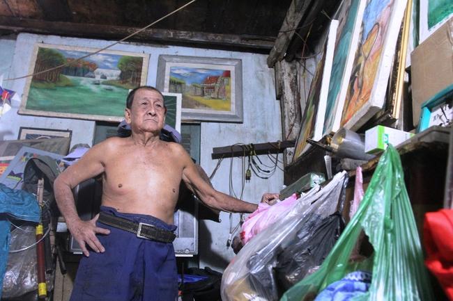 Cảnh đời nghèo mà vui của gia đình chồng vẽ tranh, vợ bán ve chai: Cứ vô tư mà sống, khổ cũng không buồn! - Ảnh 15.
