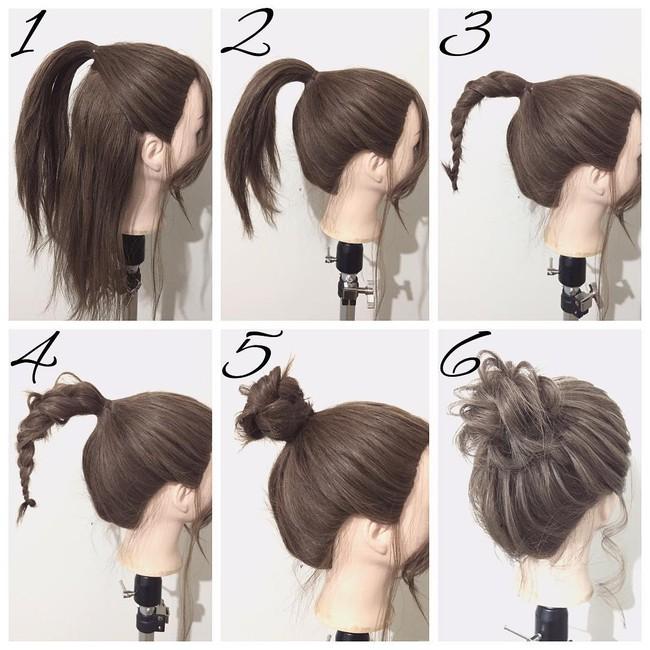 Những kiểu tóc cứu nguy cho ngày đầu bết vì mưa gió - Ảnh 19.