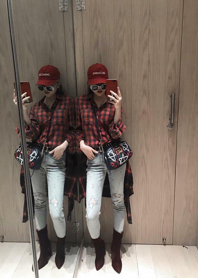 Điểm mặt 4 kiểu quần jeans đang được kiều nữ Việt kết nhất - Ảnh 12.