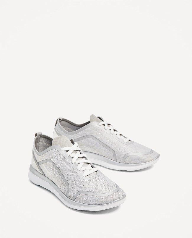 Loạt thương hiệu bình dân đã tung ra nhiều mẫu giày thể thao trắng cho các nàng tha hồ lựa chọn - Ảnh 5.