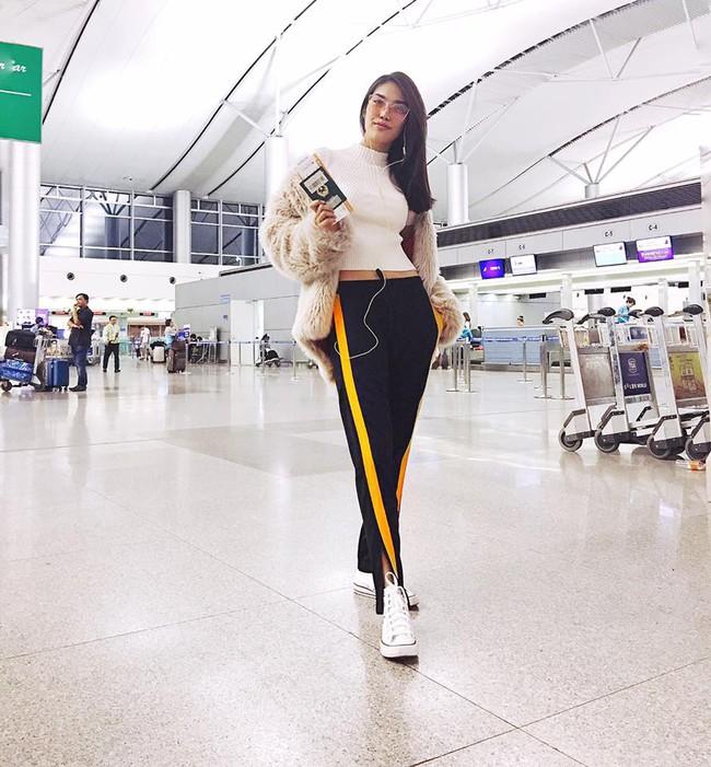Angela Phương Trinh dìm chiều cao bằng quần loe quá khổ, Đỗ Mỹ Linh chững chạc với tóc uốn xoăn - Ảnh 9.