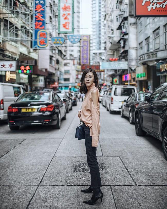 Street style quý cô châu Á: Diện đơn giản mà chất thế này thì nàng nào cũng muốn bắt chước theo - Ảnh 5.