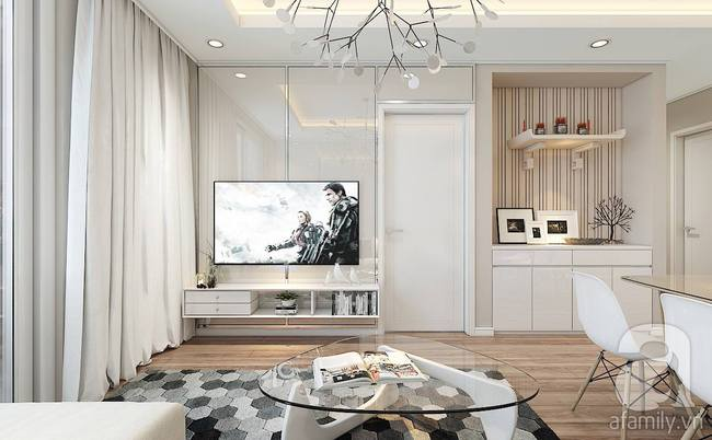 Với 217 triệu, KTS đã biến căn hộ từ chỗ không thể cải tạo kết cấu trở nên đẹp bất ngờ - Ảnh 3.