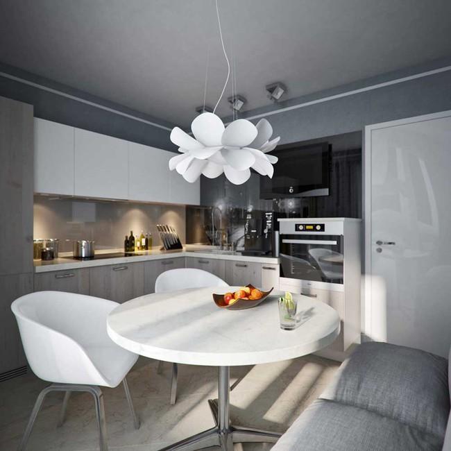 8 căn bếp đẹp xuất sắc dù chỉ vỏn vẻn 8m² - Ảnh 8.