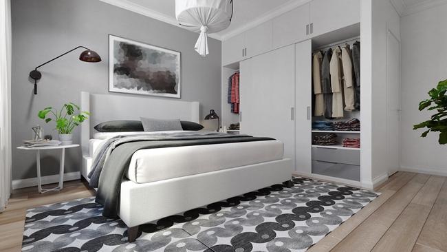 Chỉ sử dụng 2 màu trắng - xám nhưng căn hộ này chất đến độ chẳng chê được điểm nào - Ảnh 8.