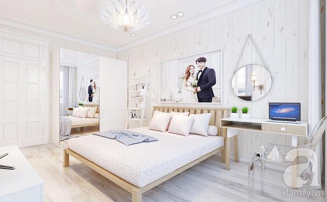 Phòng ngủ 15m² của vợ chồng trẻ đẹp hoàn hảo chỉ với 20 triệu - Ảnh 3.