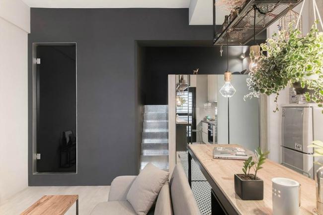 Cứ bố trí thông minh như căn hộ 30m² này thì sống tiện nghi trong nhà chật là hoàn toàn có thể - Ảnh 2.