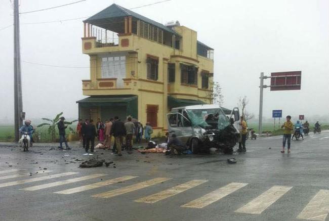 4 người chết và nhiều người bị thương trong vụ tai nạn (Ảnh CTV)