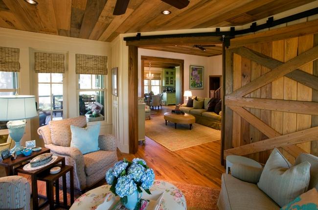 Cửa gỗ cánh trượt - giải pháp vàng để tiết kiệm diện tích và giúp không gian sống đẹp hơn - Ảnh 2.