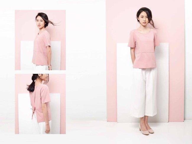 Loạt mẫu áo sơmi/blouse trơn màu giá chưa đến 500 ngàn từ thương hiệu Việt để các nàng chọn mua cho hè - Ảnh 8.
