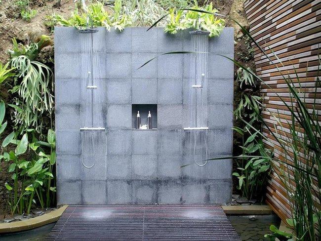 Nhà tắm ngoài trời, cách đơn giản để mang thiên đường vào không gian sống - Ảnh 8.