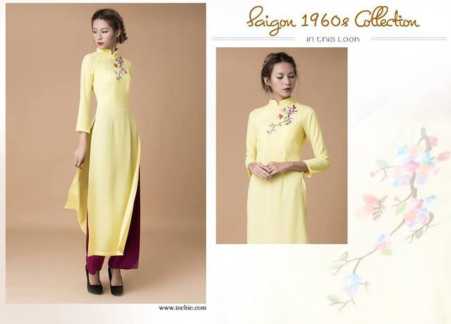 Du Xuân duyên dáng cùng loạt thiết kế áo dài truyền thống có giá dưới 3 triệu đồng - Ảnh 4.