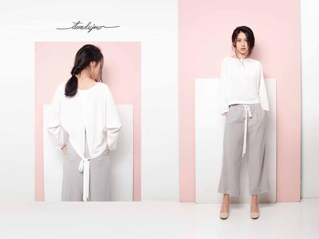 Loạt mẫu áo sơmi/blouse trơn màu giá chưa đến 500 ngàn từ thương hiệu Việt để các nàng chọn mua cho hè - Ảnh 9.
