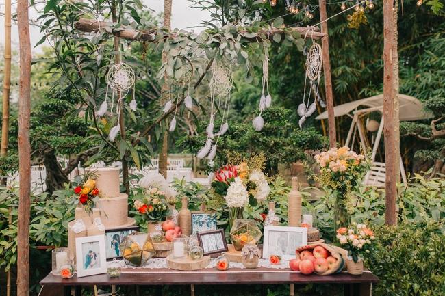 Đám cưới sân vườn xanh tươi, đẹp như mơ, khiến chú rể khô như ngói cũng tưởng được vào vai hoàng tử - Ảnh 38.
