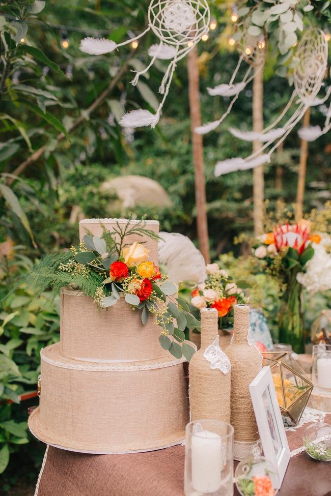 Đám cưới sân vườn xanh tươi, đẹp như mơ, khiến chú rể khô như ngói cũng tưởng được vào vai hoàng tử - Ảnh 37.
