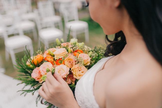 Đám cưới sân vườn xanh tươi, đẹp như mơ, khiến chú rể khô như ngói cũng tưởng được vào vai hoàng tử - Ảnh 22.