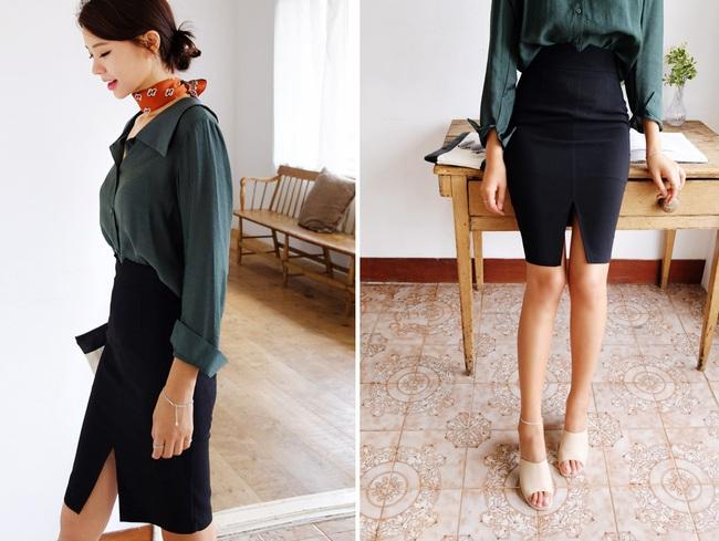 Chỉ là chân váy ôm đơn giản cũng có nhiều biến tấu tôn dáng khiến chị em công sở mê mẩn - Ảnh 23.