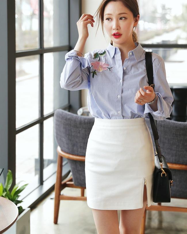 Chỉ là chân váy ôm đơn giản cũng có nhiều biến tấu tôn dáng khiến chị em công sở mê mẩn - Ảnh 24.