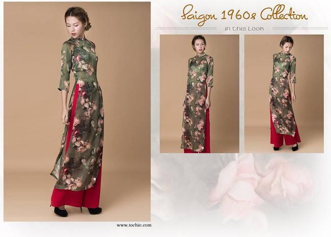 Du Xuân duyên dáng cùng loạt thiết kế áo dài truyền thống có giá dưới 3 triệu đồng - Ảnh 5.