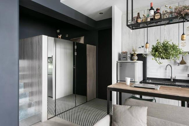 Cứ bố trí thông minh như căn hộ 30m² này thì sống tiện nghi trong nhà chật là hoàn toàn có thể - Ảnh 7.
