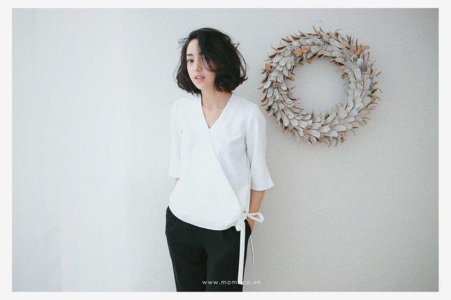 Loạt mẫu áo sơmi/blouse trơn màu giá chưa đến 500 ngàn từ thương hiệu Việt để các nàng chọn mua cho hè - Ảnh 11.